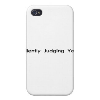 Silently Judging You iPhone 4/4S Cases