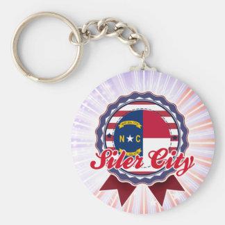 Siler City, NC Keychain