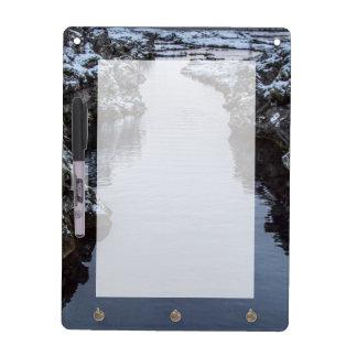 Silfra in Iceland Dry Erase Board