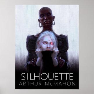 Silhouette Artwork Poster