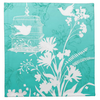Silhouette Birds napkin