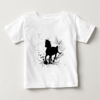Silhouette, black horse tshirt
