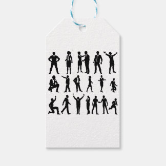Silhouette Business People Set