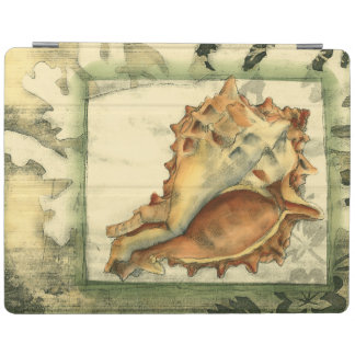 Silhouette Conch Shell iPad Cover