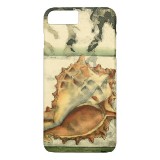 Silhouette Conch Shell iPhone 8 Plus/7 Plus Case