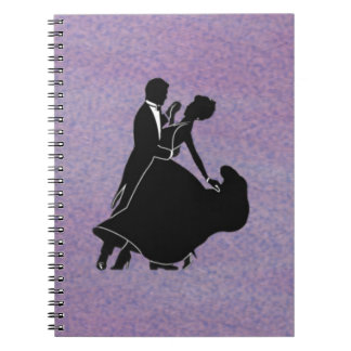 Silhouette Dancers Notebook