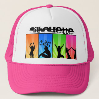 silhouette dancers trucker hat