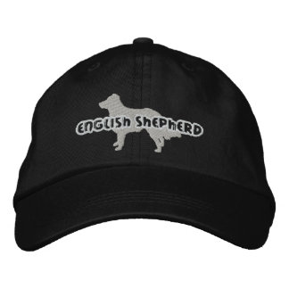 Silhouette English Shepherd Embroidered Hat