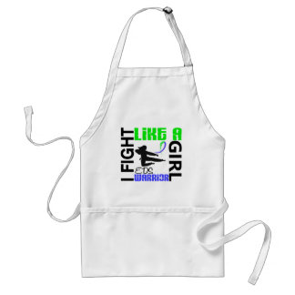 Silhouette Fight Like A Girl EDS 3.2 Adult Apron
