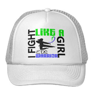Silhouette Fight Like A Girl EDS 3.2 Trucker Hat