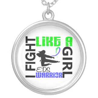 Silhouette Fight Like A Girl EDS 3.2 Pendant
