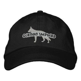 Silhouette German Shepherd Embroidered Hat