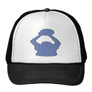 Silhouette Trucker Hats