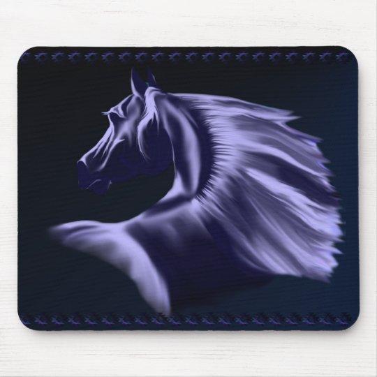 Silhouette Horse Mousepad