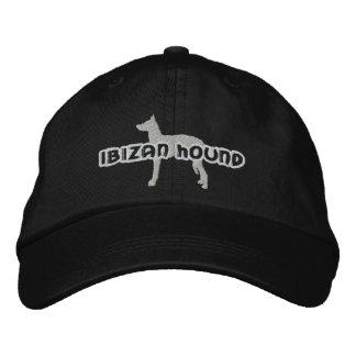 Silhouette Ibizan Hound Embroidered Hat