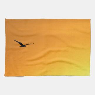 Silhouette of a Bird American Mojo Kitchen Towel