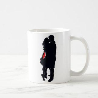 Silhouette of a Kiss (11 oz. coffee mug) Coffee Mug
