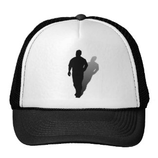 Silhouette of a Man Mesh Hats