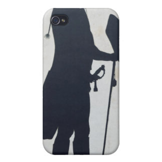 Silhouette of a Man iPhone 4 Cover