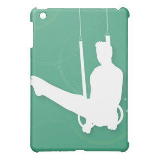 Silhouette of a man performing gymnastics iPad mini covers