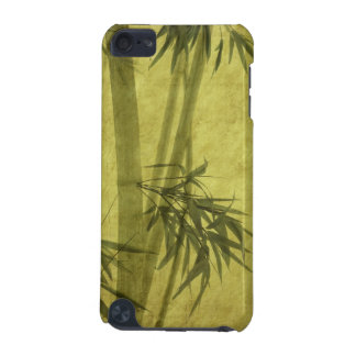 Silhouette of branches of a bamboo on paper iPod touch (5th generation) cover
