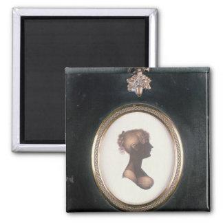 Silhouette of Cassandra Austen, c.1809 Magnet
