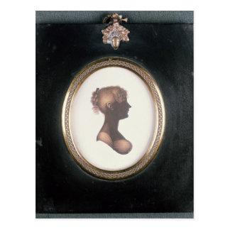 Silhouette of Cassandra Austen, c.1809 Postcard