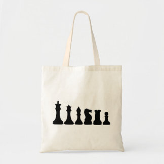 Silhouette of Chess Pieces Chessman