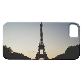 Silhouette of Eiffel Tower Case For The iPhone 5