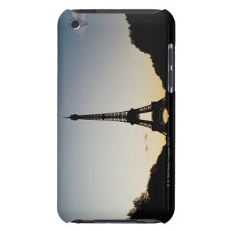Silhouette of Eiffel Tower iPod Touch Cover