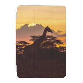 Silhouette of Masai Giraffe iPad Mini Cover