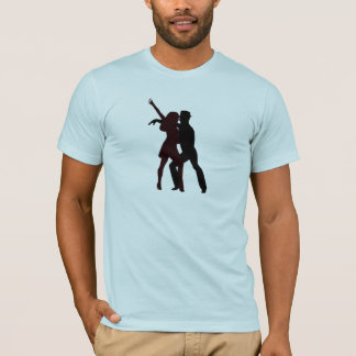 Silhouette of Salsa Dancers T-Shirt