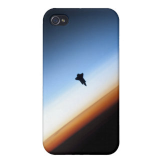 Silhouette of space shuttle Endeavour Case For The iPhone 4