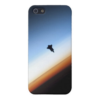 Silhouette of space shuttle Endeavour iPhone 5/5S Covers