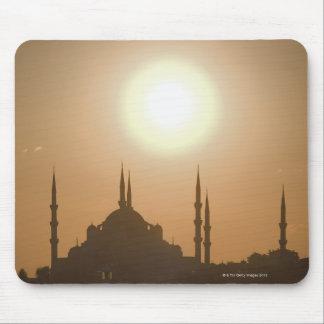 Silhouette of Suleymaniye Turkey, Istanbul Mouse Mat