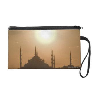 Silhouette of Suleymaniye Turkey, Istanbul Wristlet