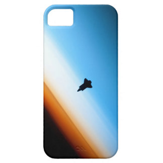 Silhouette of the Space Shuttle Endeavour iPhone 5 Cases