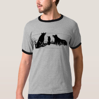 Silhouette of Wolves T-Shirt