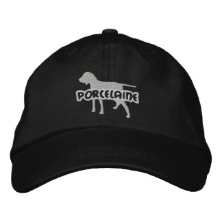 Silhouette Porcelaine Embroidered Hat