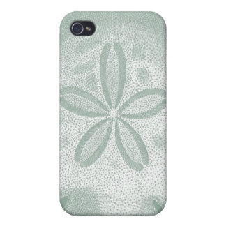 Silhouette Sand Dollar Covers For iPhone 4
