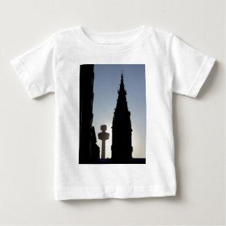Silhouette Scene, Liverpool UK Baby T-Shirt