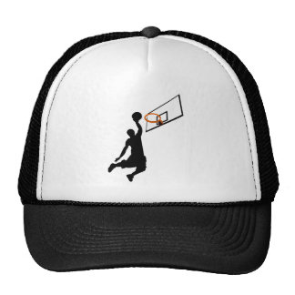 Silhouette Slam Dunk Trucker Hats