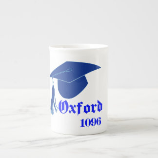 Silhouette Square Academic Cap Tea Cup