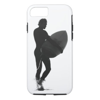 Silhouette Surfer iPhone 7 case