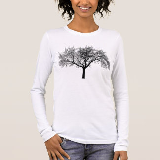 silhouette-tree long sleeve T-Shirt