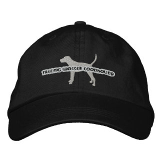 Silhouette Treeing Walker Coonhound Embroidery Hat Embroidered Baseball Cap