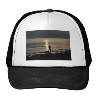 Silhouette with sparkle cap