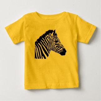 Silhouette Zebra Baby T-Shirt