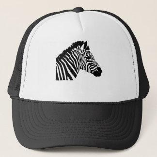Silhouette Zebra Trucker Hat