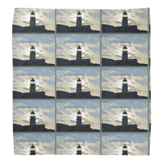 Silhouetted Lighthouse Bandana
